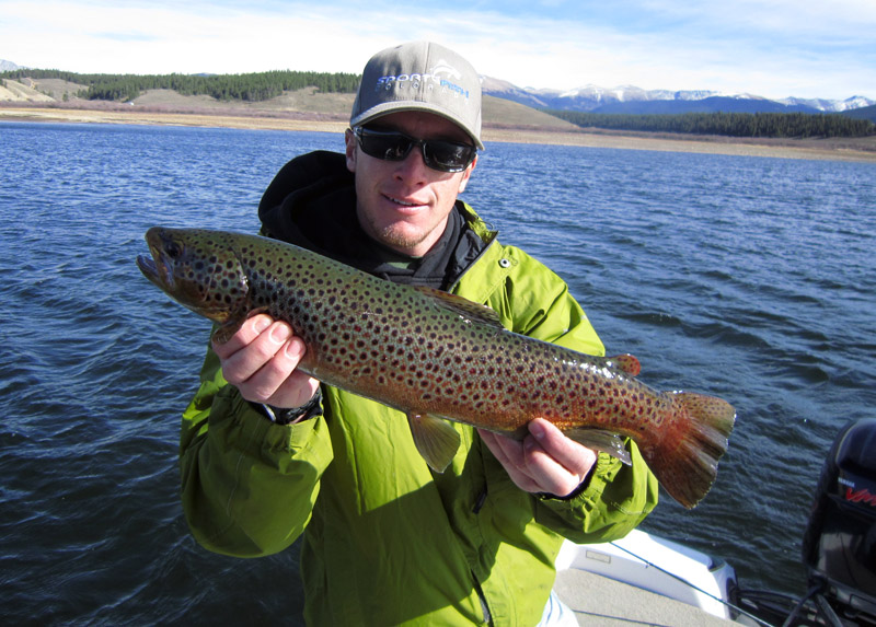 Blue mesa fishing report antero spinney 11 mile for 11 mile fishing report